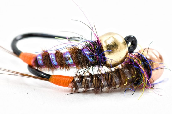 UV-ribbing for tying nymphs