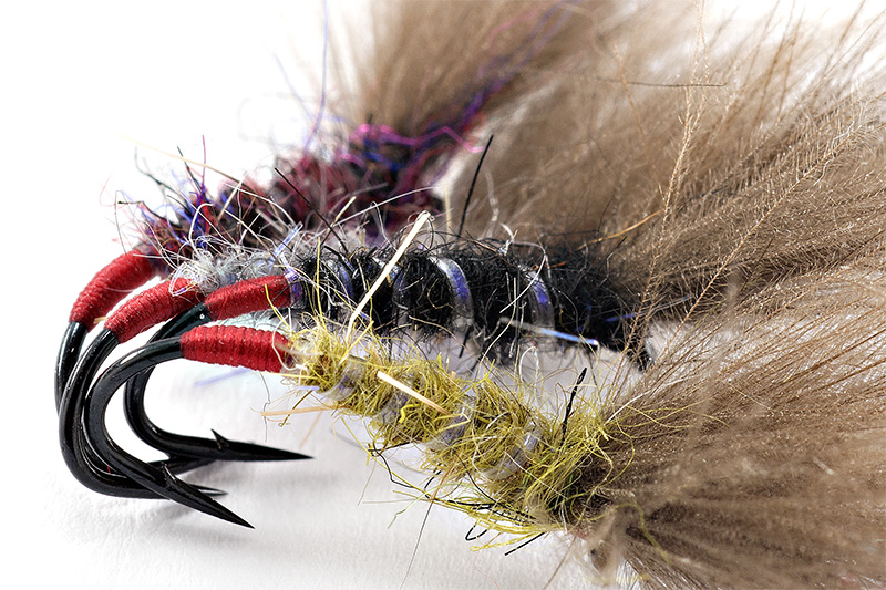 emergers tied with UV ribbing materials
