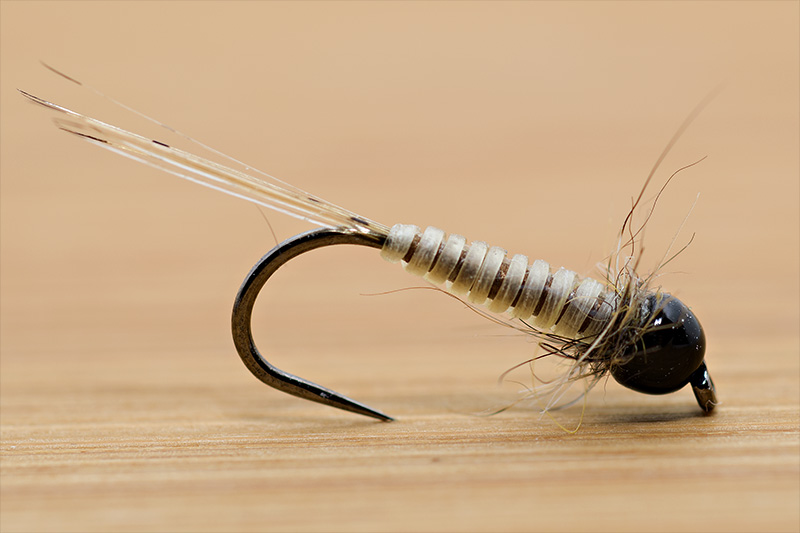 brown-dry-micro-nymph-tied-with-troutline-catgut-biothread