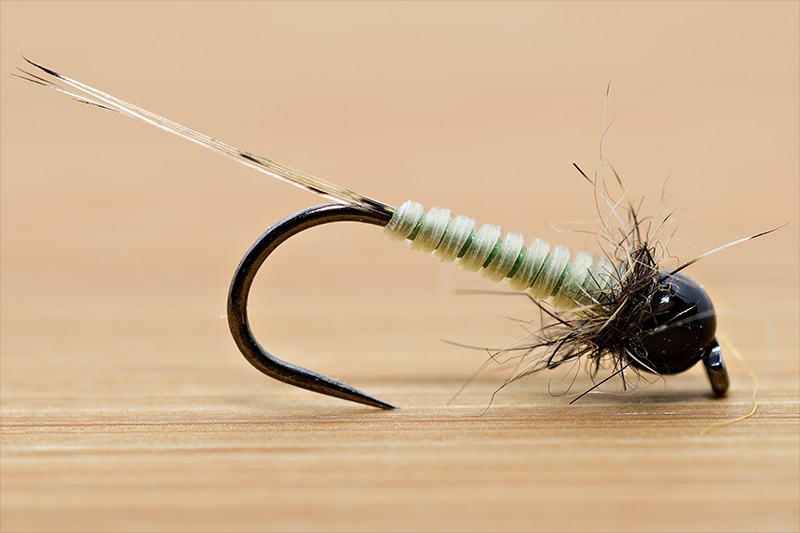 olive-dry-micro-nymph-tied-with-troutline-catgut-biothread