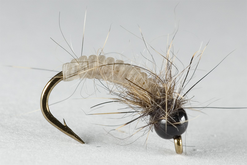 micro catgut nymph for grayling