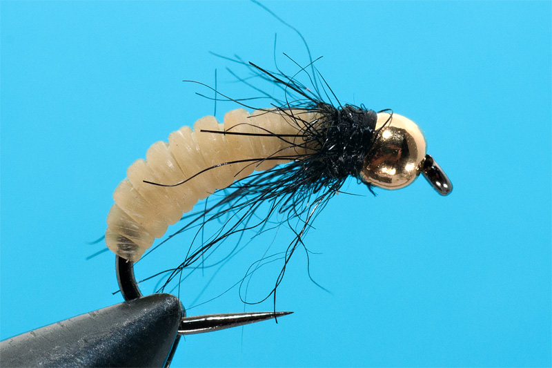 tying a catgut nymph step  6 finished fly