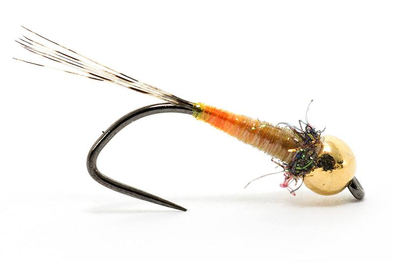 micro nympht tied with hends body quill