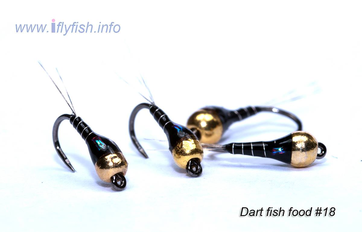 lindsay flies tied with troutline UV resin