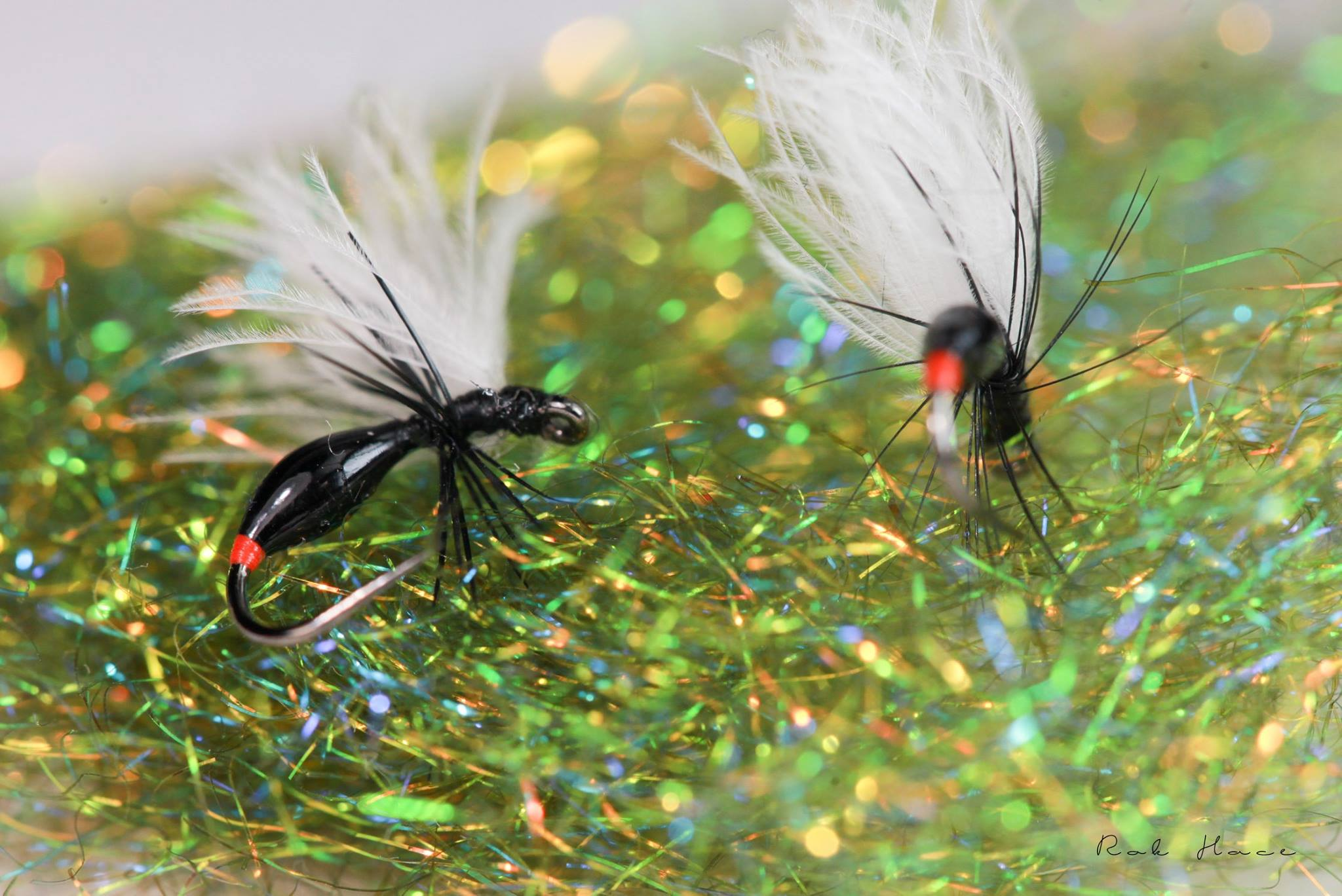 roc flies with troutline uv resin