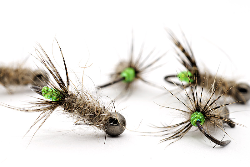 Troutline-Green-Peeping-Caddis-BL-Jig-photo-2
