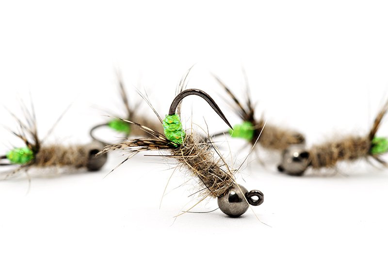 Troutline-Green-Peeping-Caddis-BL-Jig