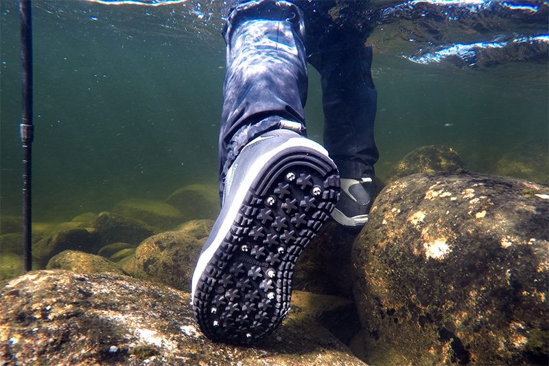 Review for Patagonia's fly fishing Sticky boots - Fly Tying